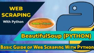 Web Scraping With BeautifulSoup in Python(GUIDE)